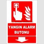 ZY1979 - ISO 7010 Yangın Alarm Butonu, Aşağıda