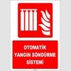 ZY1970 - ISO 7010 Otomatik Yangın Söndürme Sistemi