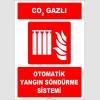ZY1969 - ISO 7010 CO2 Gazlı Otomatik Yangın Söndürme Sistemi