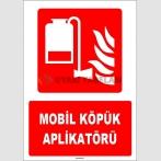 ZY1965 - ISO 7010 Mobil Köpük Aplikatörü