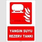 ZY1973 - ISO 7010 Yangın Suyu Rezerv Tankı