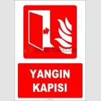 ZY1992 - ISO 7010 Yangın Kapısı