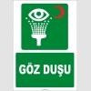 ZY2021 - ISO 7010 Göz Duşu