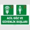 ZY2042 - ISO 7010 Acil Göz ve Güvenlik Duşları