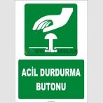ZY2062 - ISO 7010 Acil Durdurma Butonu