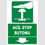 ZY2082 - Acil Stop Butonu, Aşağıda