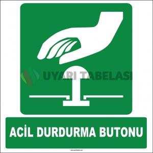 ZY2064 - ISO 7010 Acil Durdurma Butonu