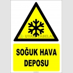 ZY2132 - ISO 7010 Soğuk Hava Deposu