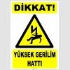 ZY2187 - Dikkat! Yüksek Gerilim Hattı