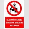 ZY2216 - Elektrik Panosu Etrafına Malzeme Koymayın
