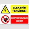 ZY2221 - Elektrik Tehlikesi, Görevliden Başkası Giremez