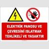 ZY2251 - Elektrik Panosu ve Çevresini Islatmak Tehlikeli ve Yasaktır