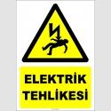 ZY2282 - Dikkat! Elektrik Tehlikesi