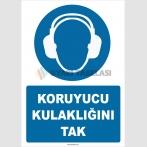 ZY2320 - ISO 7010 Koruyucu Kulaklığını Tak