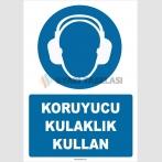 ZY2318 - ISO 7010 Koruyucu Kulaklık Kullan
