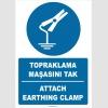 ZY2361 - Türkçe İngilizce Topraklama Maşasını Tak, Attach Earthing Clamp