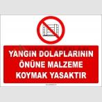 ZY2422  - Yangın Dolaplarının Önüne Malzeme Koymak Yasaktır