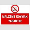 ZY2442  - Malzeme Koymak Yasaktır