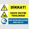 ZY2565 - Dikkat! Uzuv Kaybı Tehlikesi, Daire Testere Koruyucusunu Daima Takılı Tut