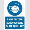 ZY2568 - Daire Testere Koruyucusunu Daima Takılı Tut