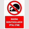 ZY2578 - Makina koruyucularını iptal etme