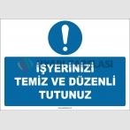ZY2641 - İşyerinizi Temiz ve Düzenli Tutunuz