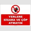 ZY2642 - Yerlere Sigara ve Çöp Atmayın