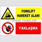 ZY2723 - Forklift Hareket Alanı, Yaklaşma