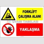 ZY2724 - Forklift Çalışma Alanı, Yaklaşma
