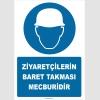 ZY2754 - Ziyaretçilerin Baret Takması Mecburidir