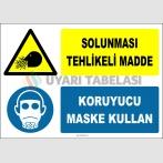 ZY2779 - Solunması Tehlikeli Madde, Koruyucu Maske Kullan