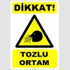 ZY2767 - Dikkat! Tozlu Ortam