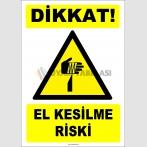 ZY2809 - Dikkat! El Kesilme Riski