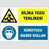 ZY2827 - Silika Tozu Tehlikesi, Koruyucu Maske Kullan