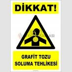 ZY2866 - Dikkat! Grafit Tozu Soluma Tehlikesi
