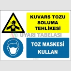 ZY2907 - Kuvars Tozu Soluma Tehlikesi, Toz Maskesi Kullan