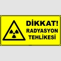 ZY2912 - ISO 7010 Dikkat Radyasyon Tehlikesi