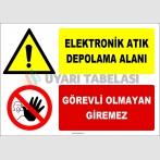 ZY2941 - Elektronik Atık Depolama Alanı, Görevli Olmayan Giremez
