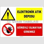 ZY2942 - Elektronik Atık Deposu, Görevli Olmayan Giremez