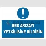 ZY2956 - Her Arızayı Yetkilisine Bildirin