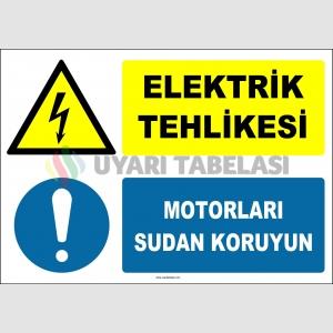 ZY2970 - Elektrik Tehlikesi, Motorları Sudan Koru