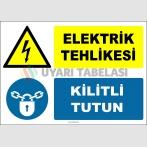 ZY2975 - Elektrik Tehlikesi, Kilitli Tutun