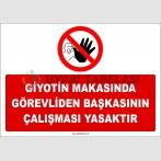ZY2985 - Giyotin Makasında Görevliden Başkasının Çalışması Yasaktır