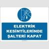 ZY2993 - Elektrik Kesintilerinde Şalteri Kapat