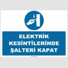 ZY2995 - Elektrik Kesintilerinde Şalteri Kapat