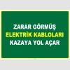 EF1039 - Zarar Görmüş Elektrik Kabloları Kazaya Yol Açar
