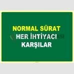 EF1071 - Normal Sürat, Her İhtiyacı Karşılar