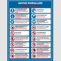 EF1194 - Türkçe-İngilizce Havuz Kuralları, Pool Rules