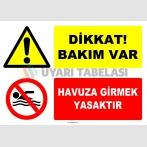 EF1201 - Dikkat! Bakım Var, Havuza Girmek Yasaktır