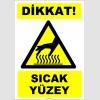 EF1221 - Dikkat! Sıcak Yüzey